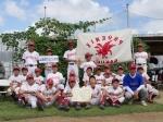 全志津社協少年野球大会で第三位の成績を収めました。